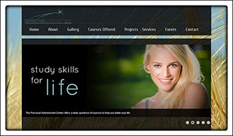 Personal Achievement Centre Website